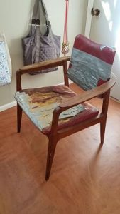 before upholstery